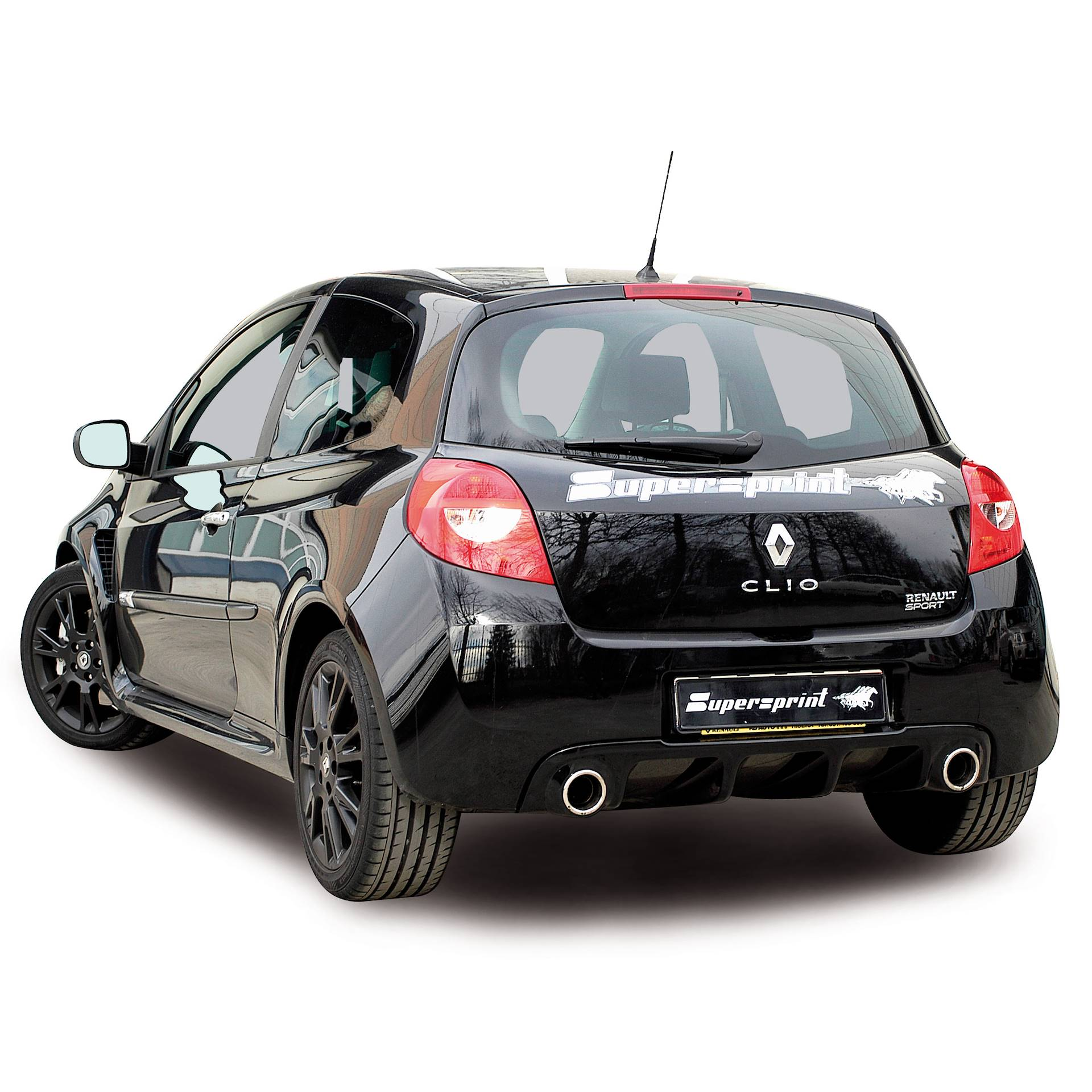 renault clio iii rs 200 hp 2010 renault exhaust systems. Black Bedroom Furniture Sets. Home Design Ideas