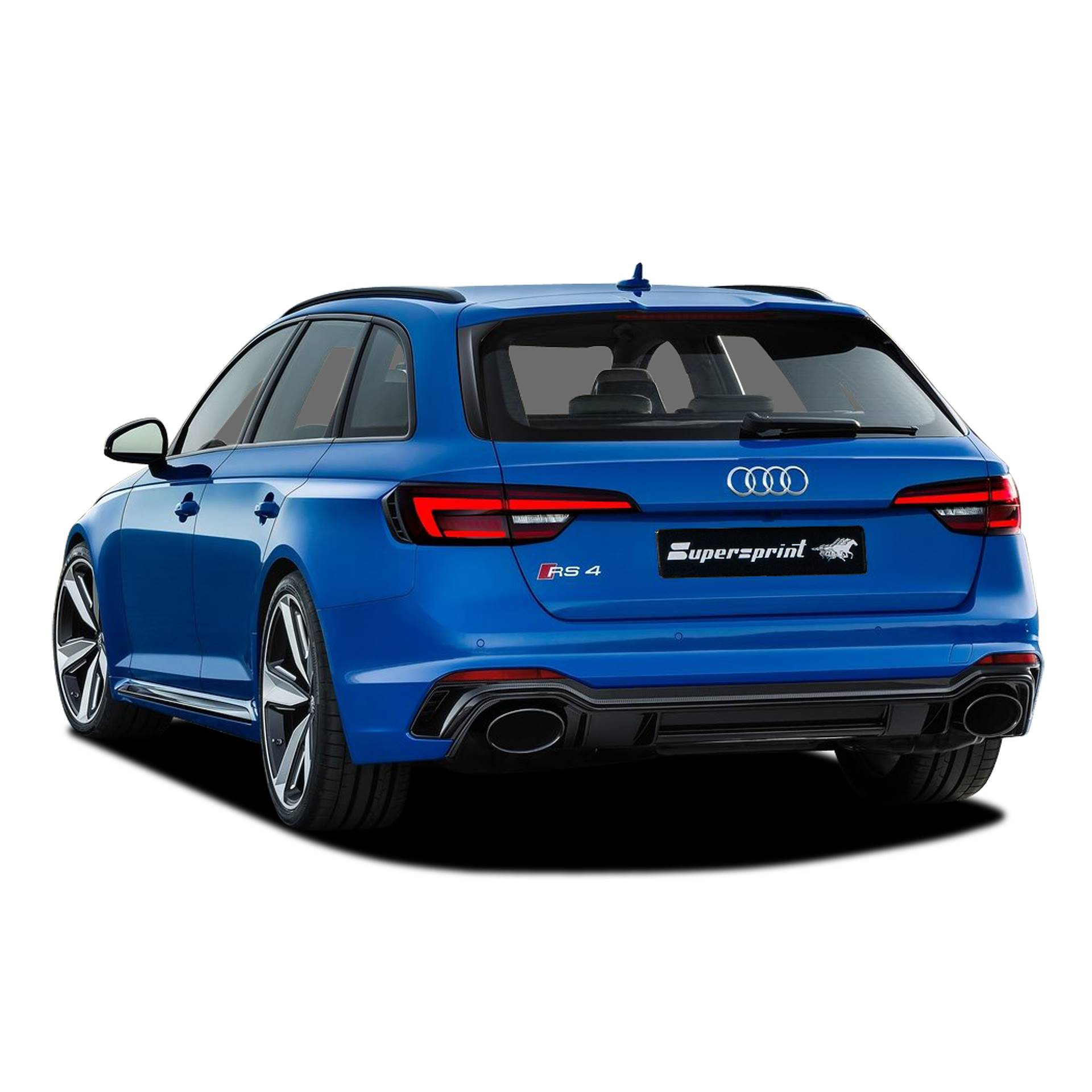 New Supersprint Exhaust with valves for AUDI RS4 / RS5 B9