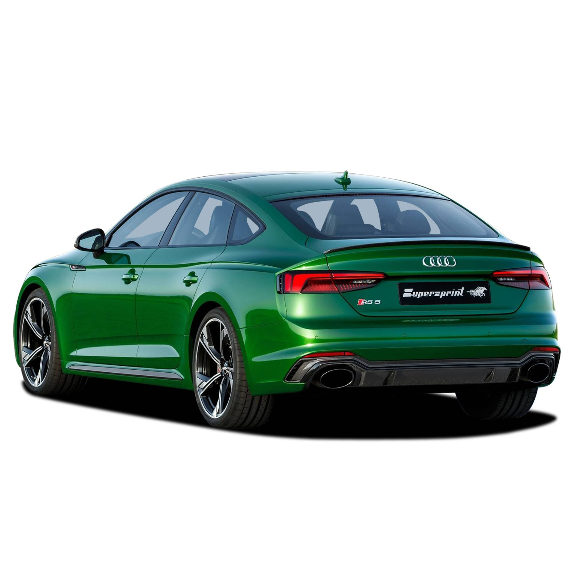 AUDI RS5 Quattro Sportback 2.9 TFSi V6 (450 Hp) -> 09/2017 (with valve)