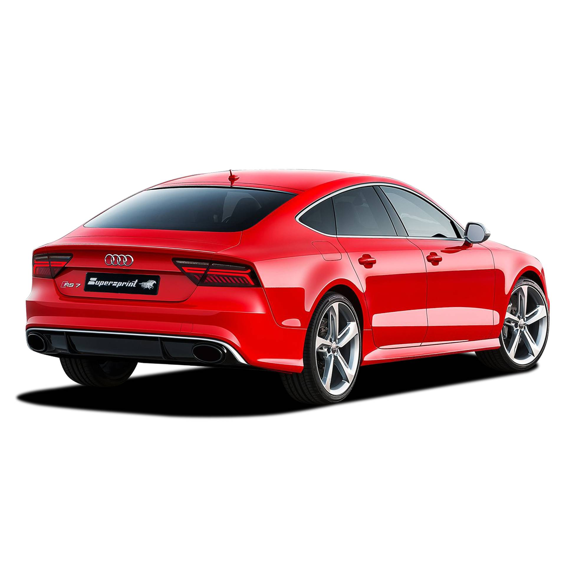 Performance Sport Exhaust For Audi RS7 Facelift With Valve