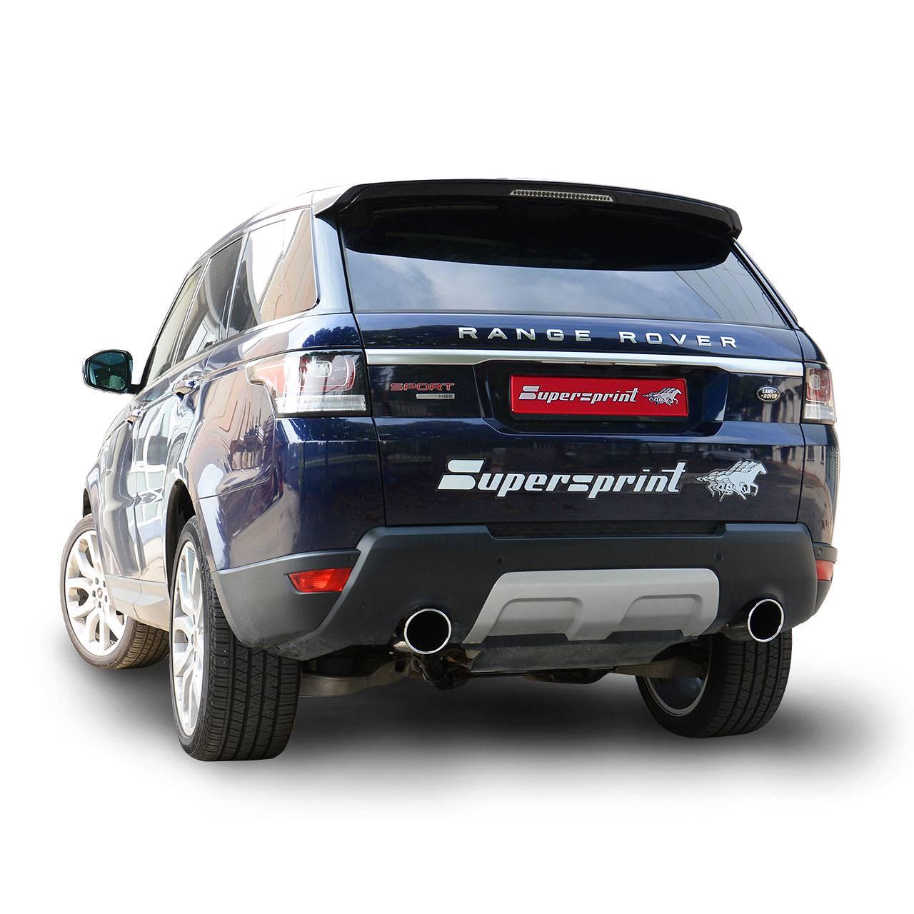 RANGE ROVER SPORT 4.4 SD V8 (339 Hp) 2017 ->, Land Rover