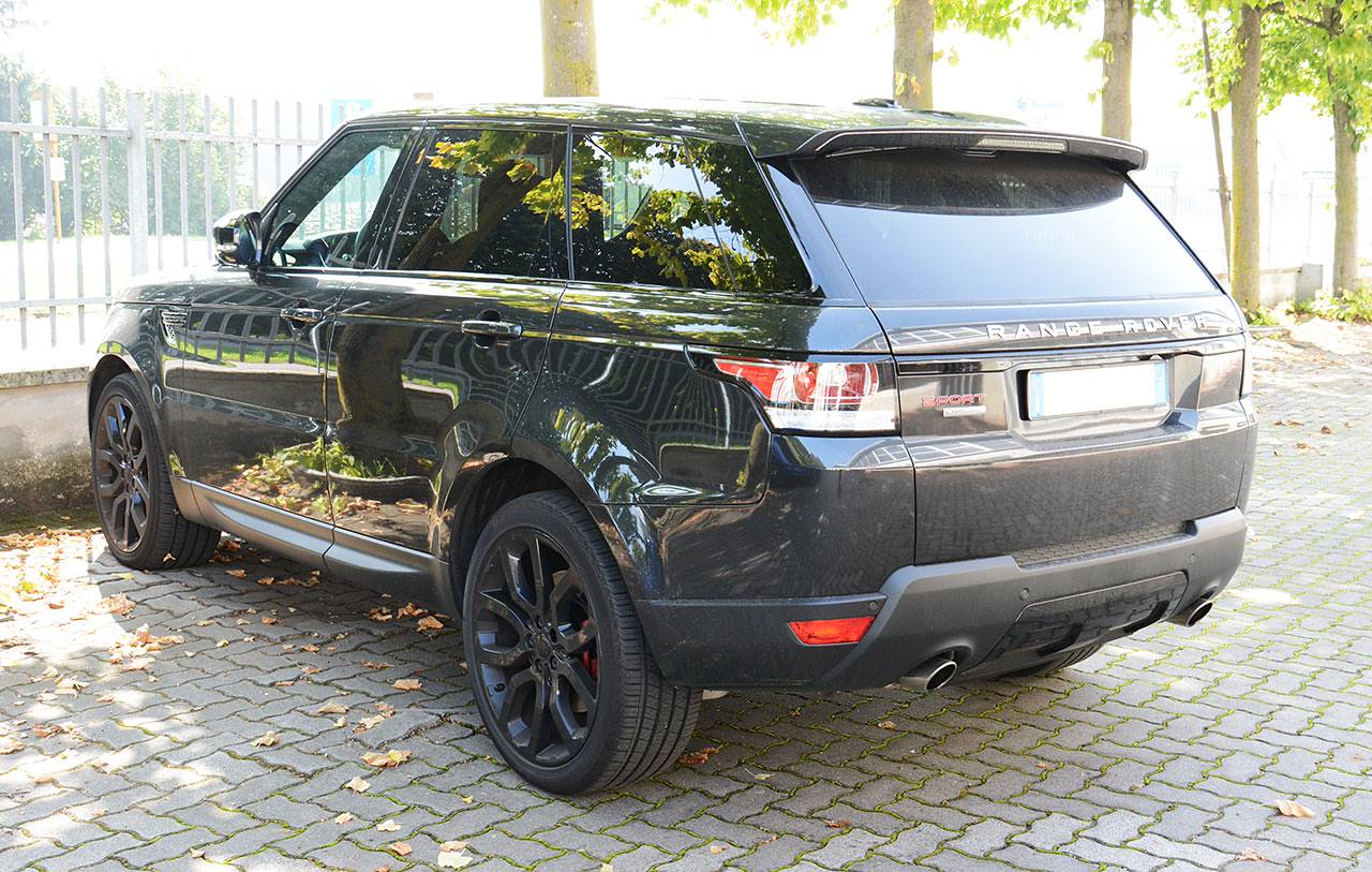 Range Rover Sport mk2 L494 5.0 Supercharged - Sport exhaust development by Supersprint - Stock