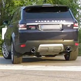 Range Rover Sport Mk2 TDV6 sound with Supersprint rear pipes