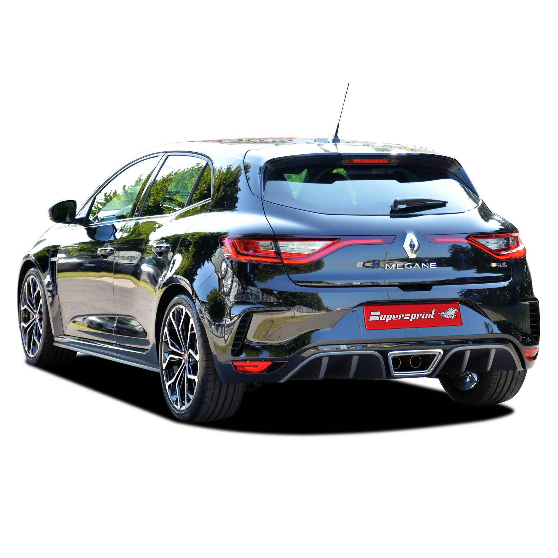 Performance sport exhaust for RENAULT MEGANE 4 R S , RENAULT