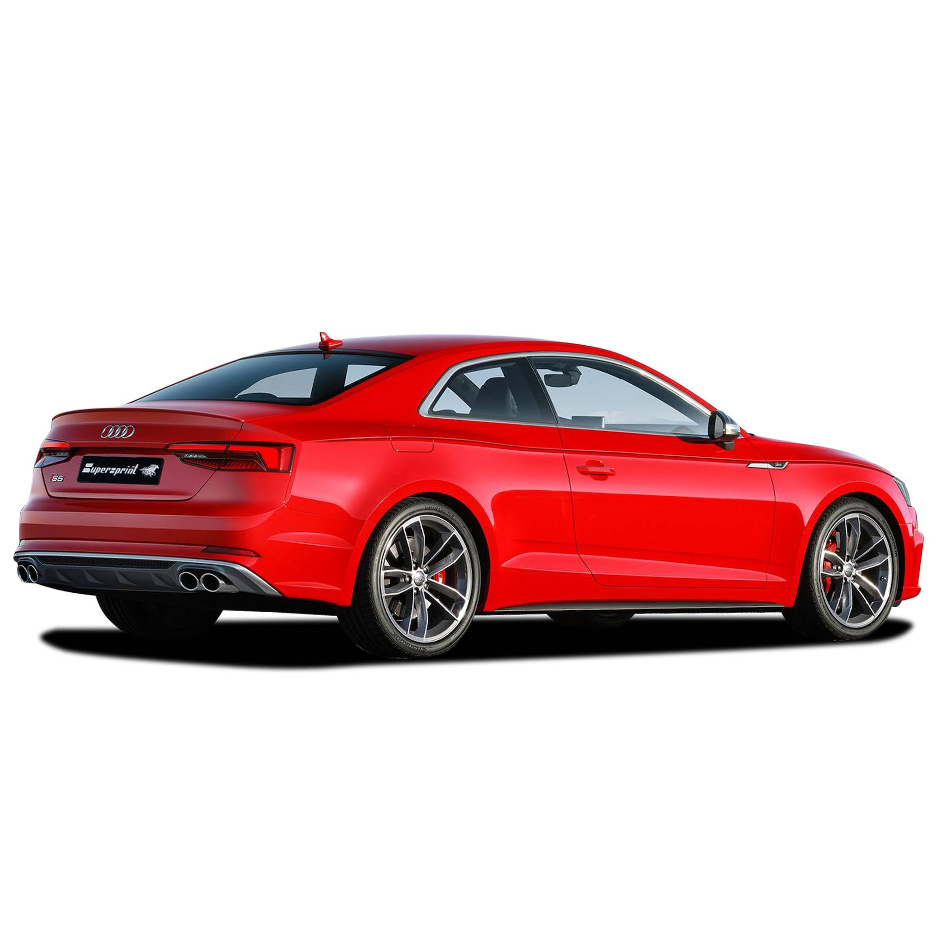 Performance sport exhaust for Audi S5 B9 with valve, AUDI S5 Quattro