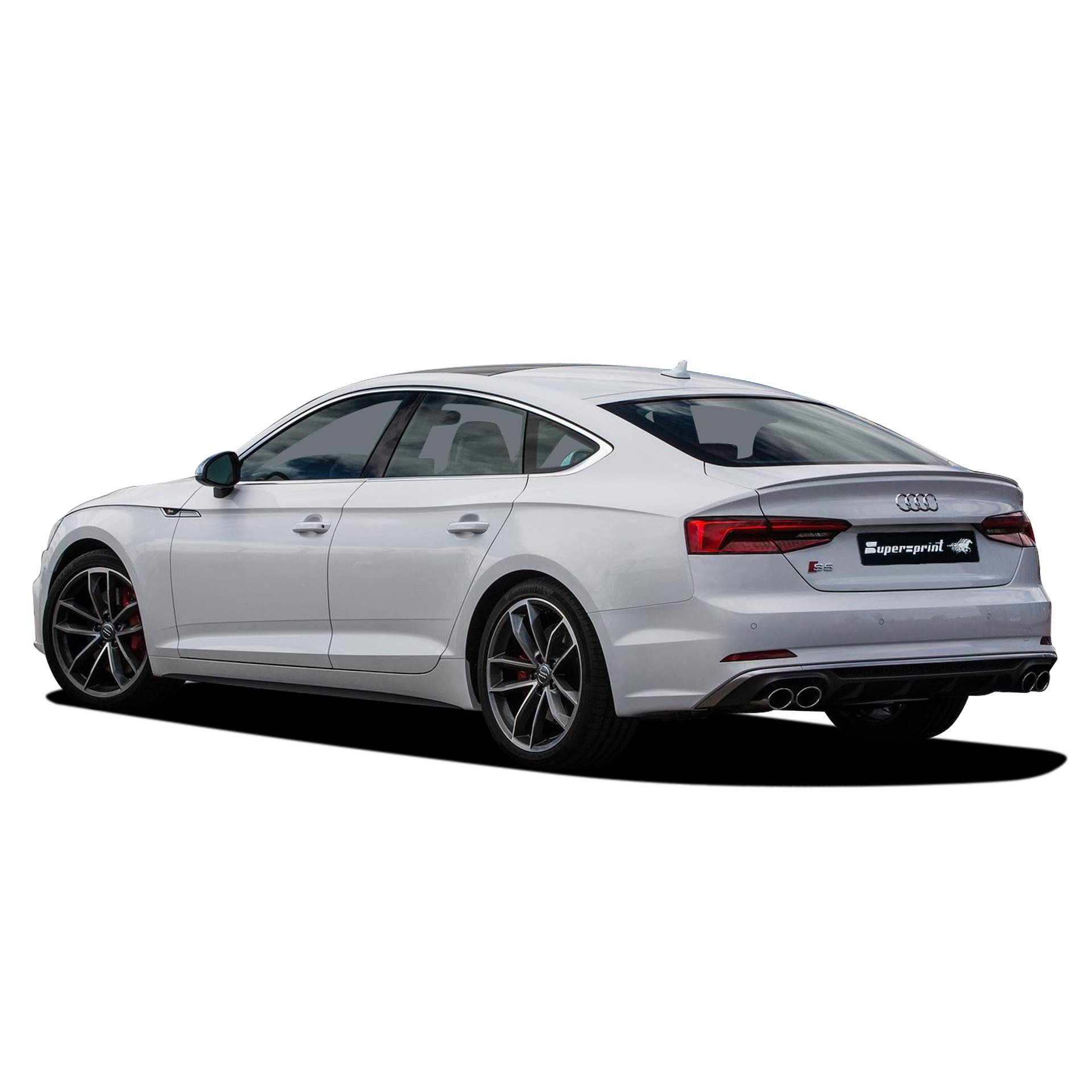 performance sport exhaust for audi s5 b9 sportback with. Black Bedroom Furniture Sets. Home Design Ideas