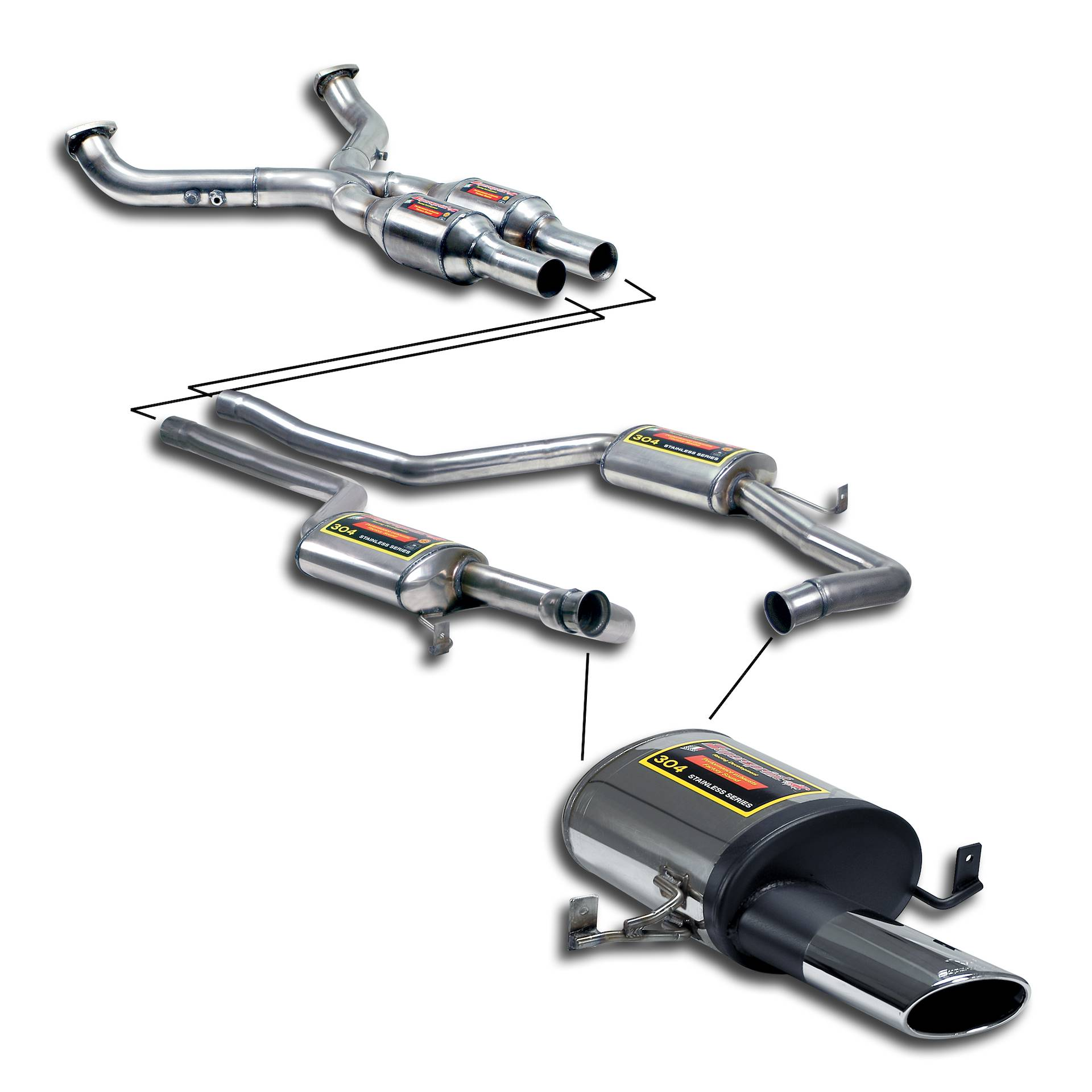Porsche - PORSCHE 928 S4 Street performance pack , performance exhaust systems