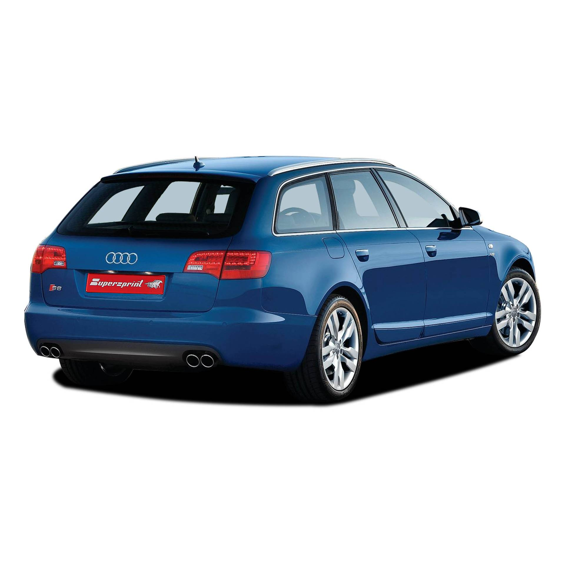 Performance Sport Exhaust For Audi S6 4F, AUDI A6 S6 C6