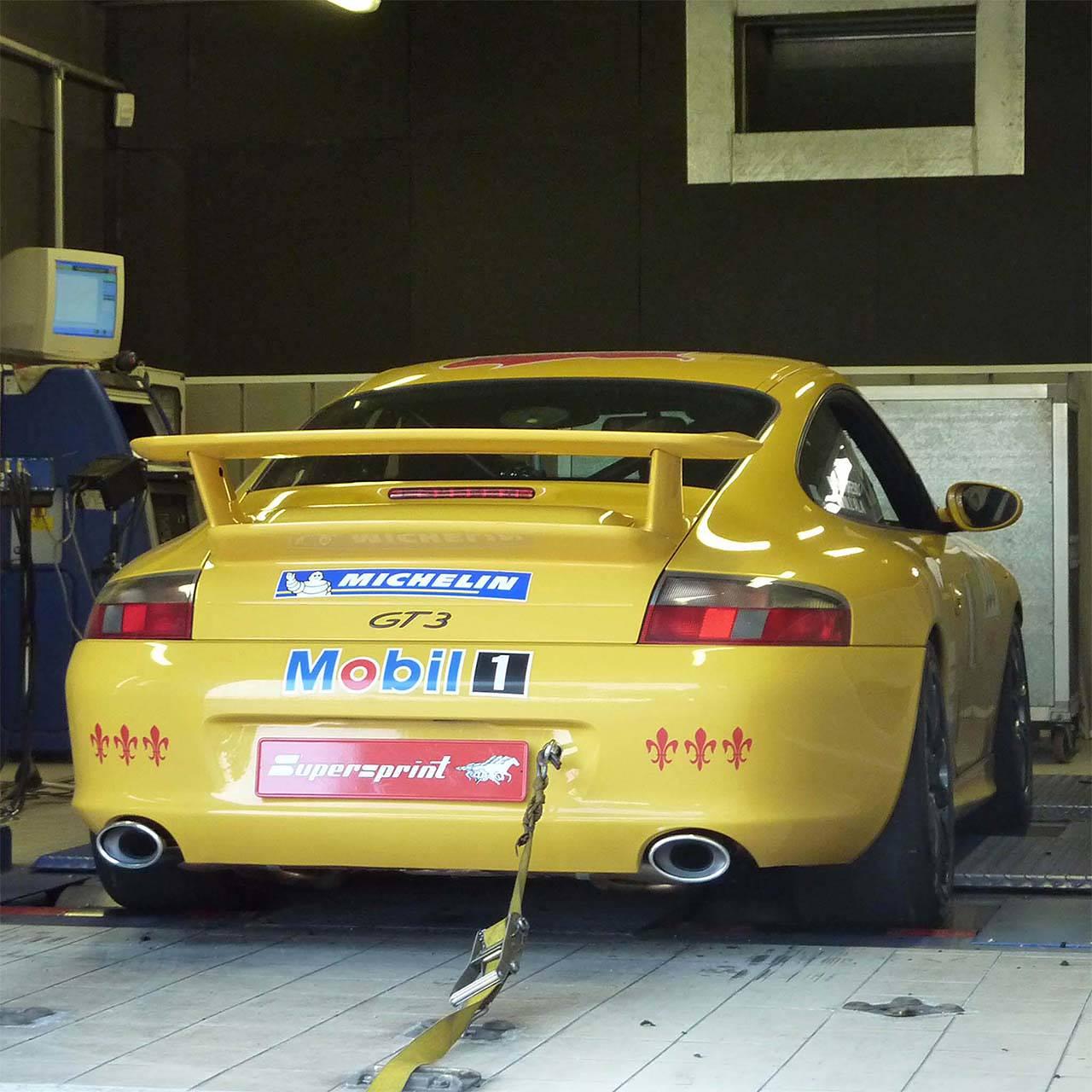 Porsche 996 Aftermarket Exhaust: Performance Sport Exhaust For PORSCHE 911 996 GT3, PORSCHE