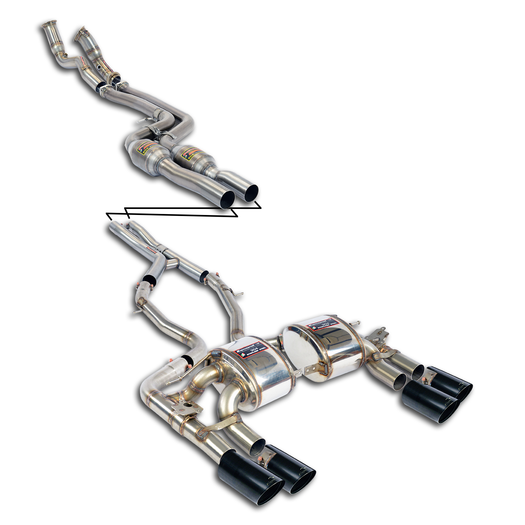 performance sport exhaust for bmw f87 m2 competition bmw. Black Bedroom Furniture Sets. Home Design Ideas