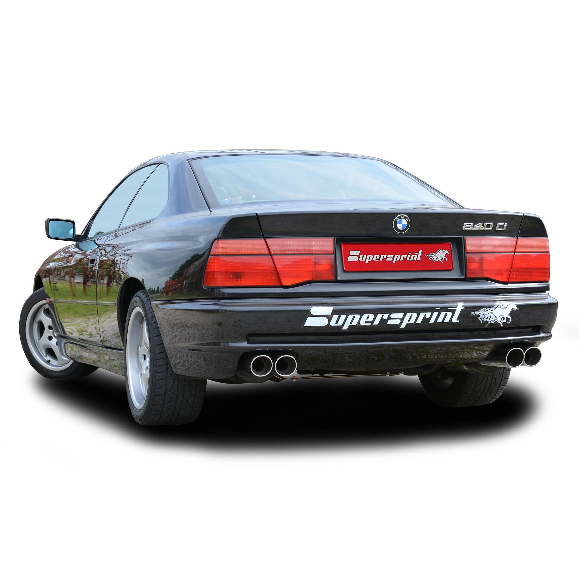 Supersprint exhaust system for BMW E31 840Ci V8 (M62)
