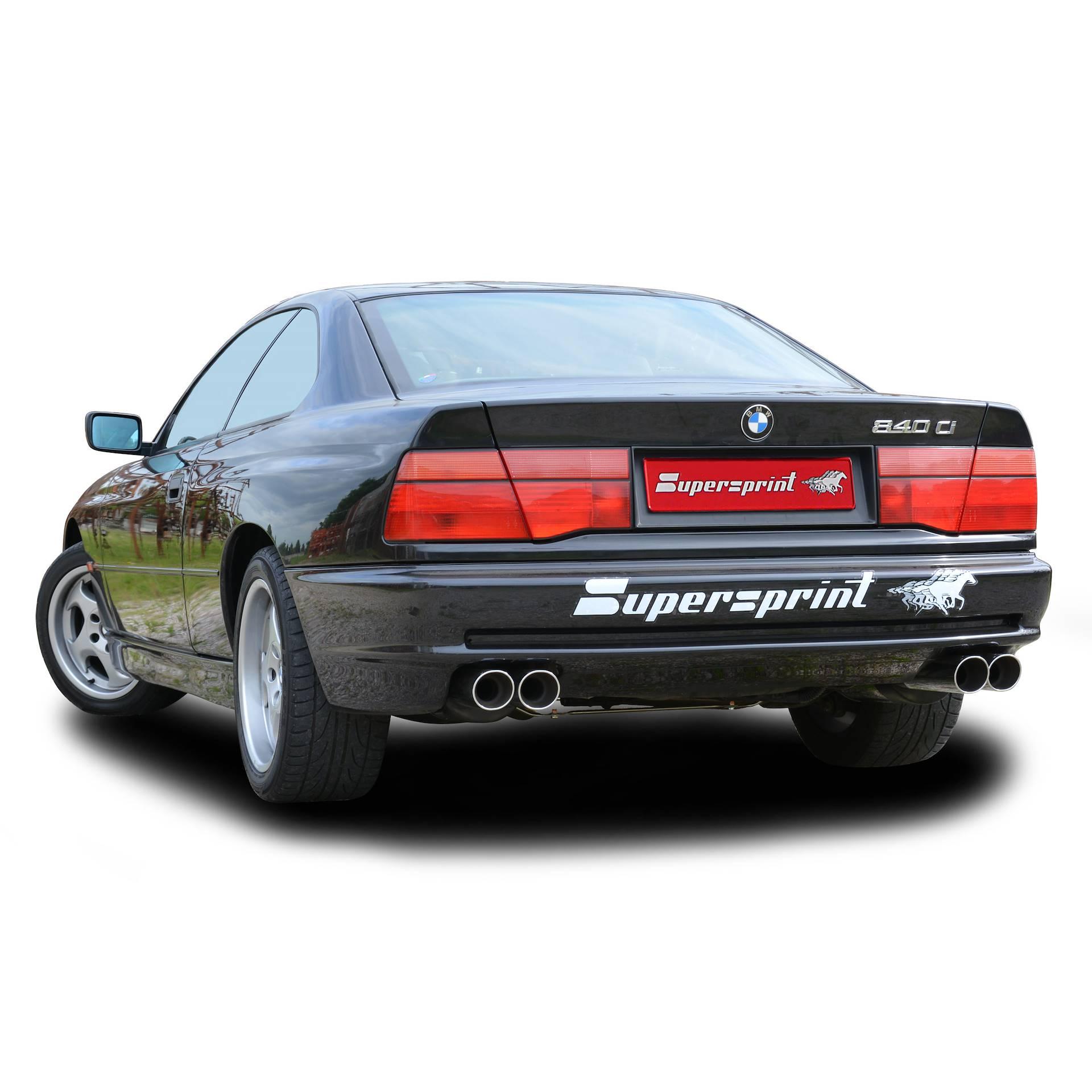Bmw E31 840ci V8 M62 95 Gt 99 Bmw Classic Exhaust