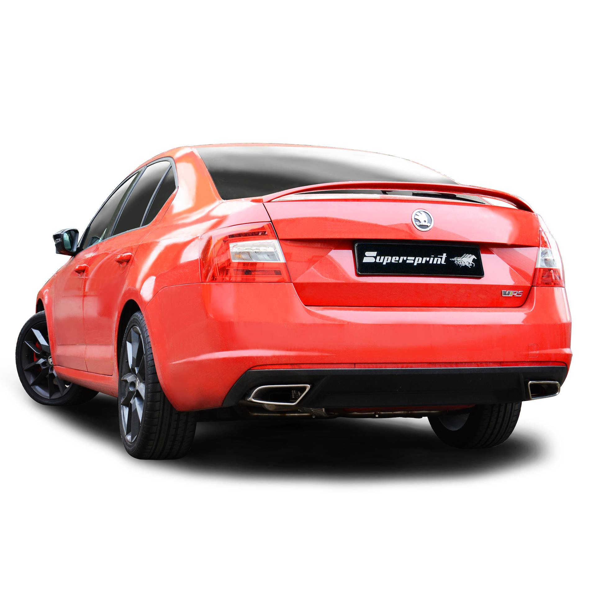performance sport exhaust for octavia mk3 rs tsi skoda. Black Bedroom Furniture Sets. Home Design Ideas
