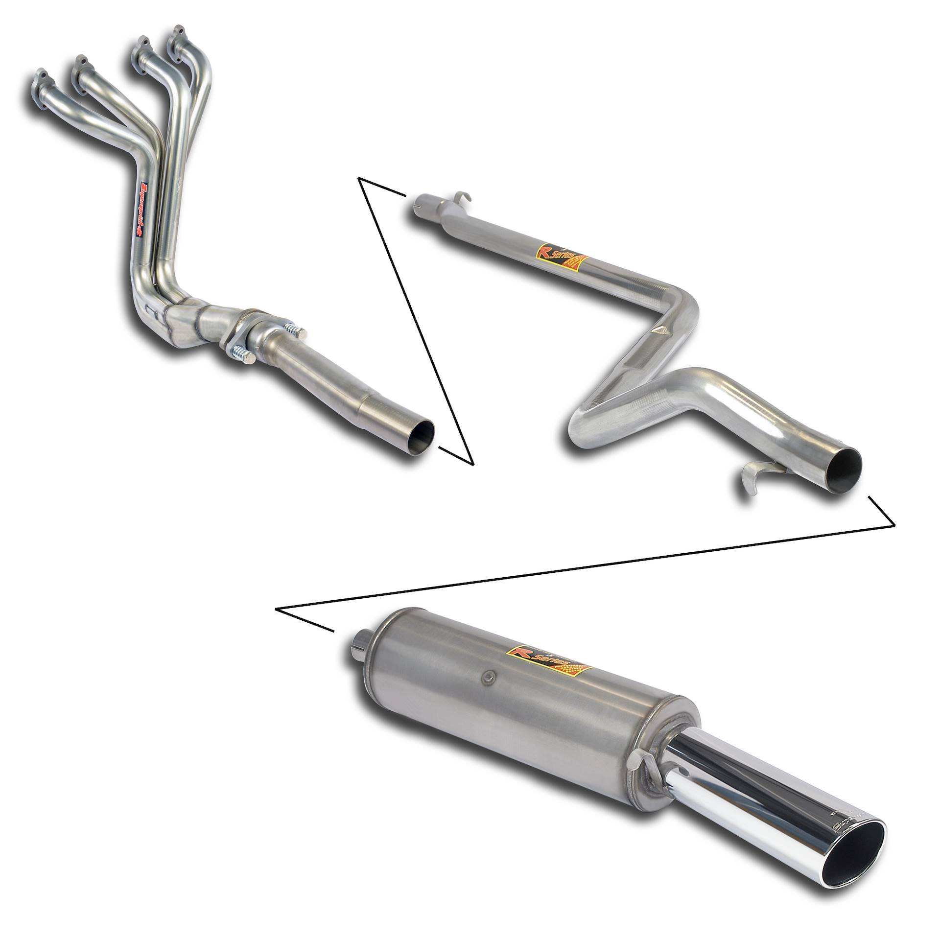 "Volkswagen - VW GOLF I GTi 1.8  8/'82 -> 11/'83 Sport performance pack ""4-1"", performance exhaust systems"