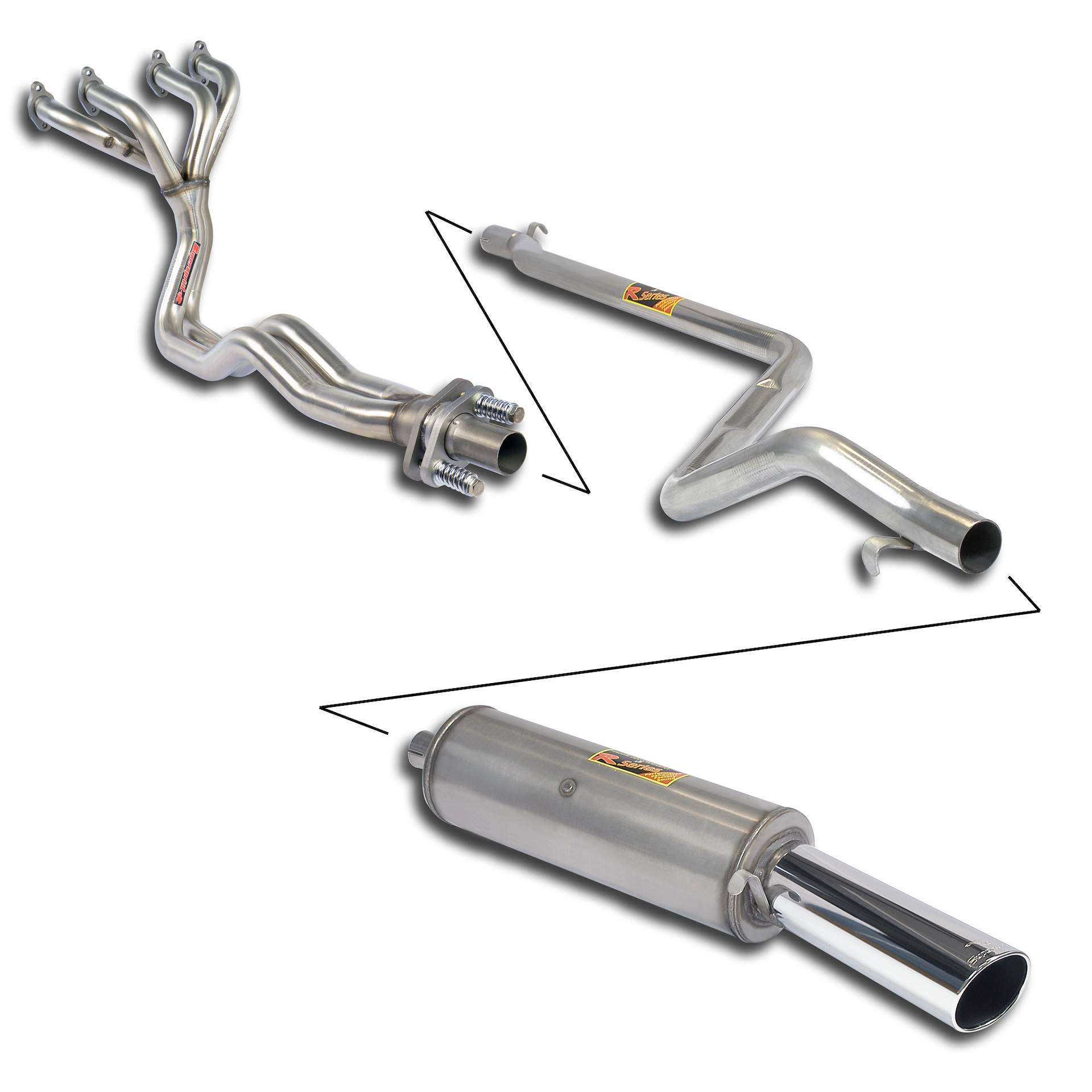 "Volkswagen - VW GOLF I GTi 1.8  8/'82 -> 11/'83 Sport performance pack ""4-2-1"", performance exhaust systems"