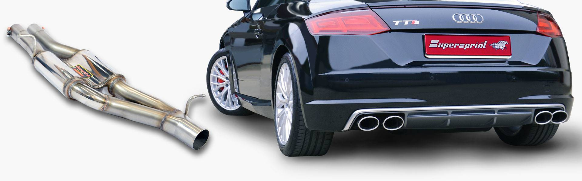 AUDI TTS 8S - FULL PERFORMANCE EXHAUST