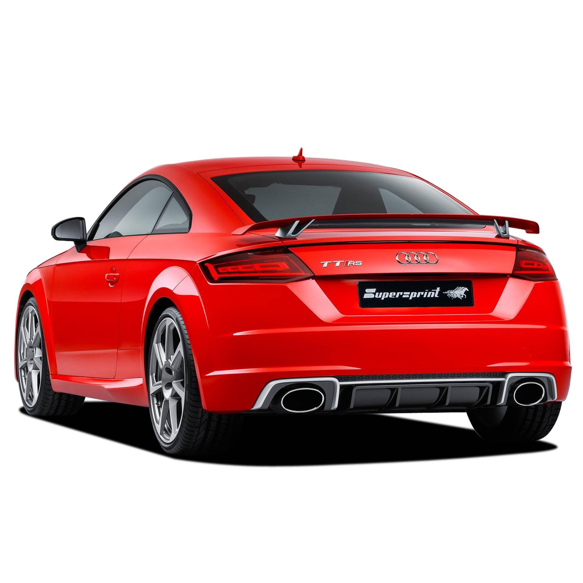 Supersprint sportsudstødning til Audi TT RS Quattro