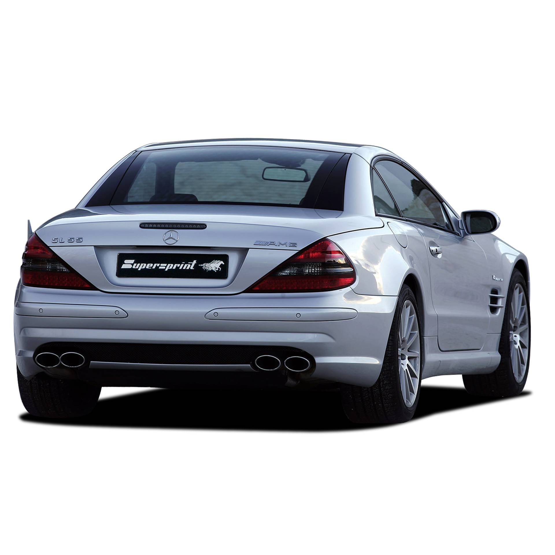 Performance sport exhaust for MERCEDES R230 SL 55 AMG MERCEDES R230