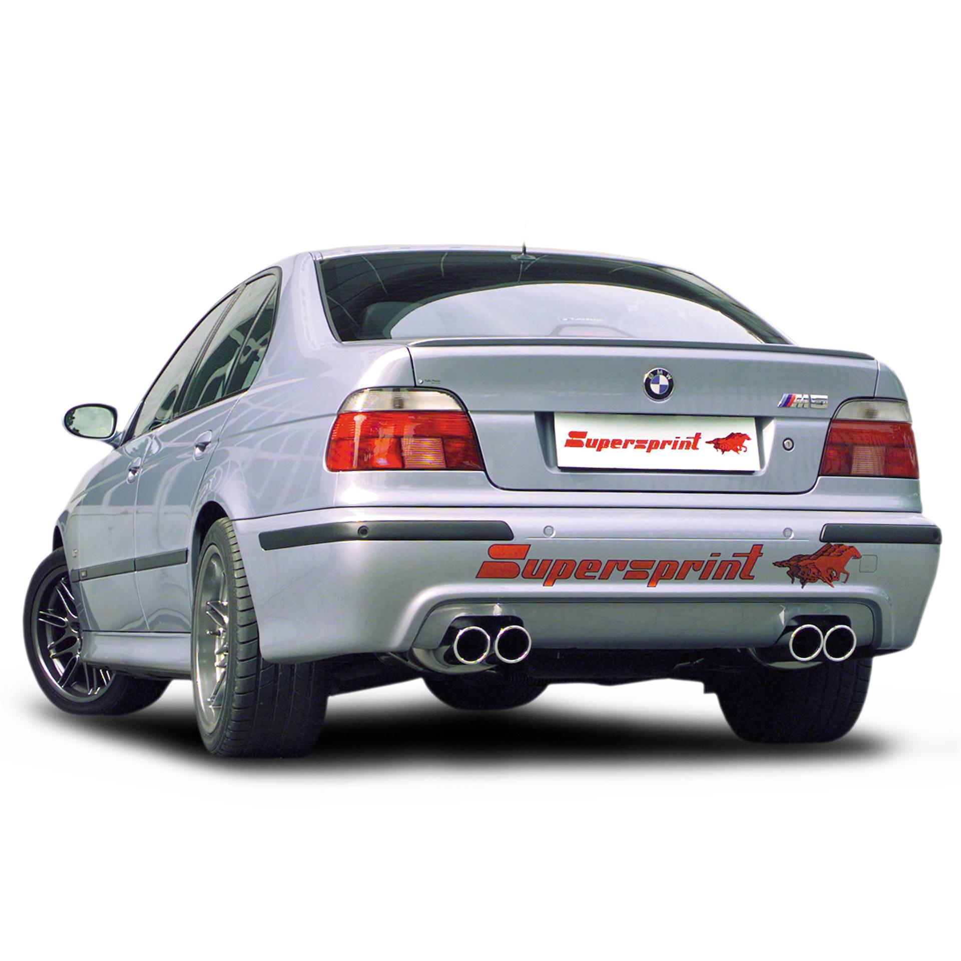 performance sport exhaust for bmw e39 m5 bmw e39 m5 5 0 v8 98 rh supersprint com
