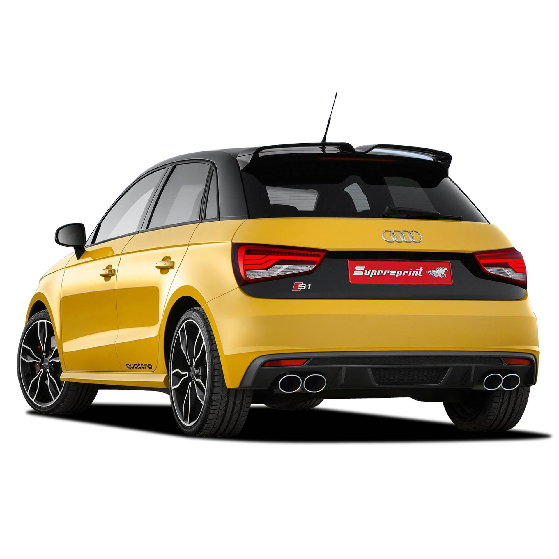 AUDI S1 Quattro 3 Doors / Sportback 2.0 TFSI (231 Hp) '2014 -> (Twin Pipe) (with valve)