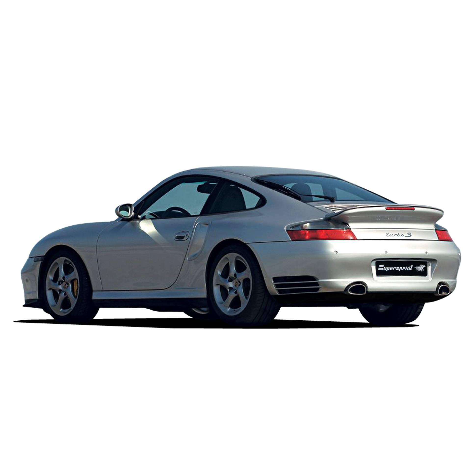 Porsche 996 Engine Hp: Performance Sport Exhaust For PORSCHE 911 996 Turbo S