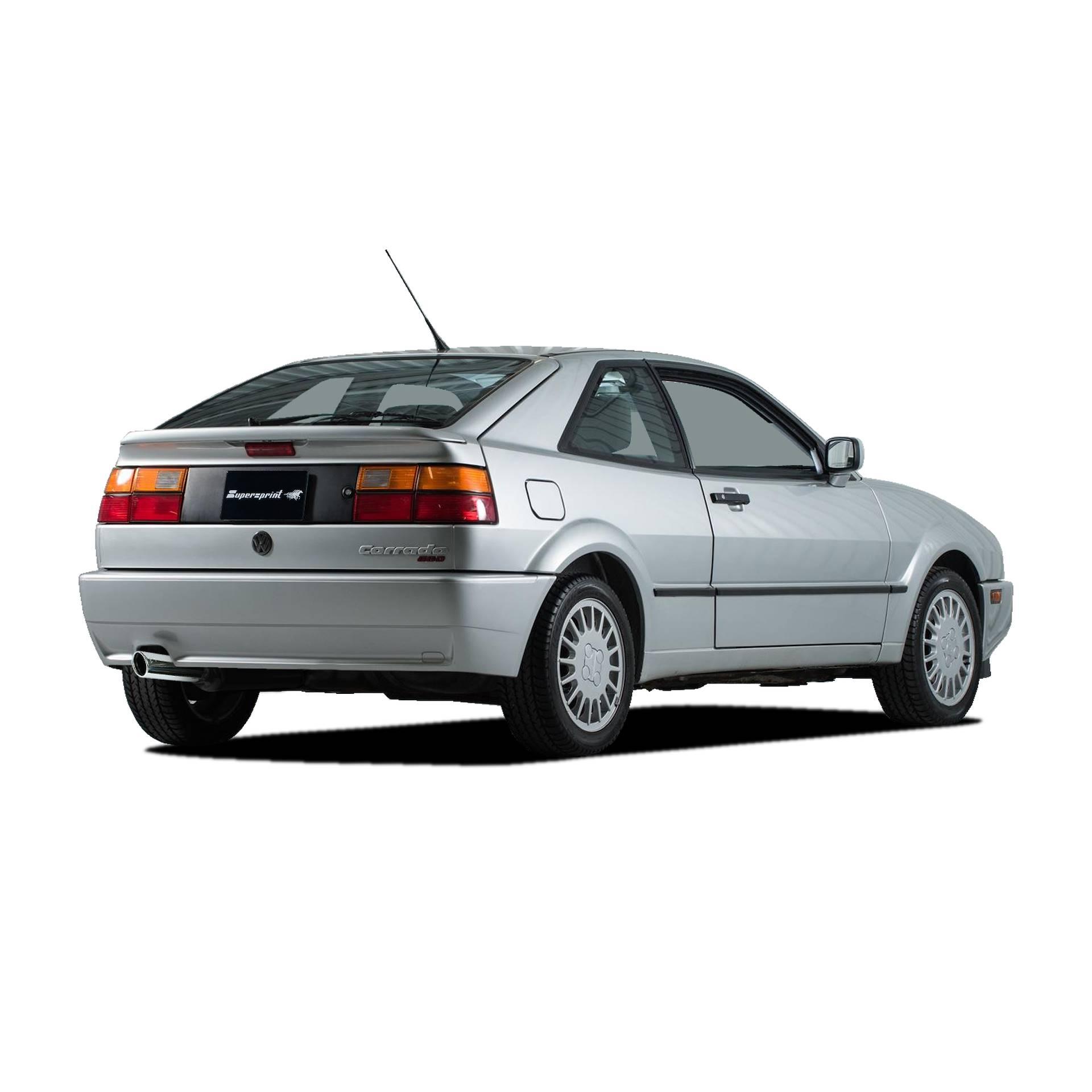 Sportauspuff Anlage Für VW CORRADO G60, VW CORRADO 1.8 G60