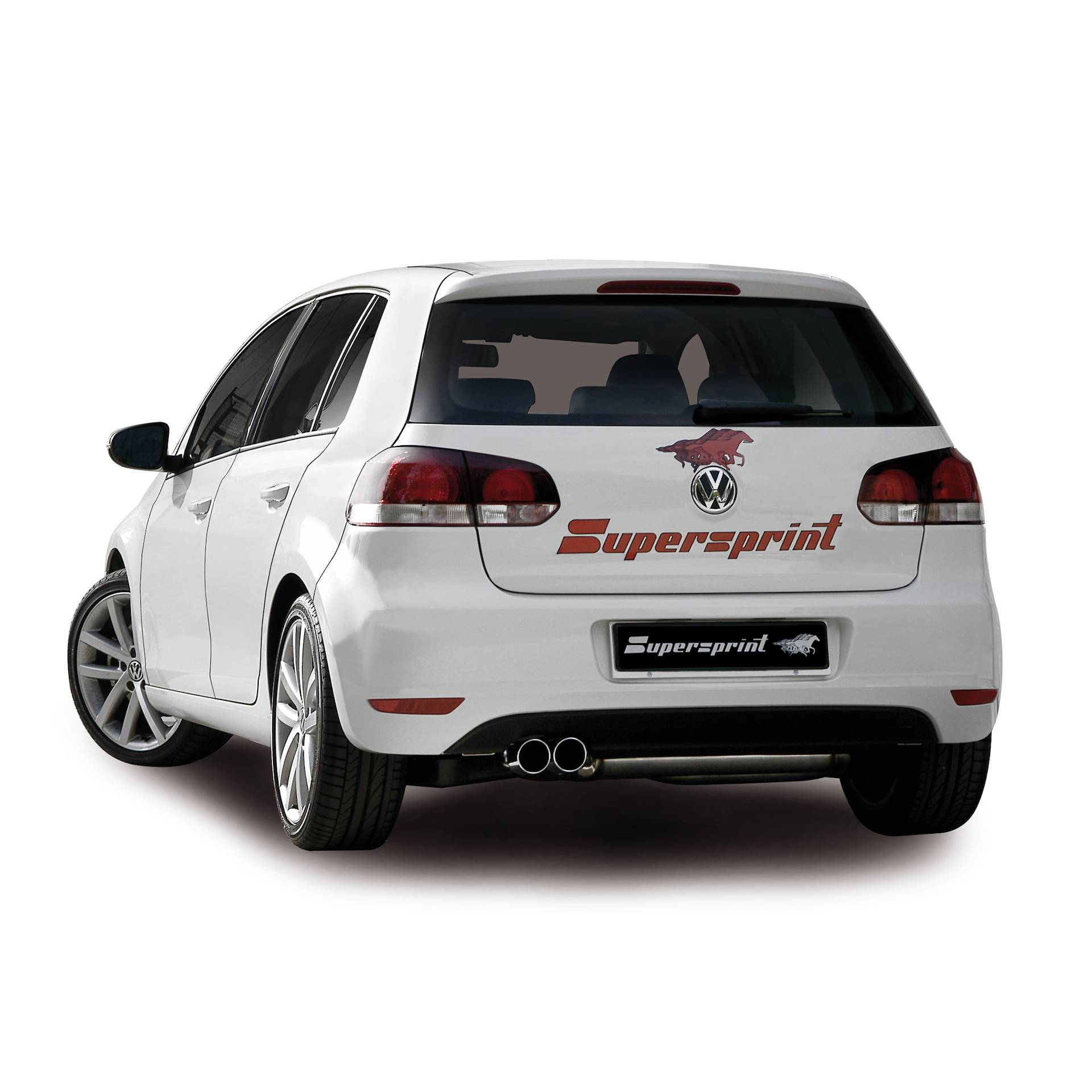 vw golf vi 2 0 tdi 110 hp 2009 2012 volkswagen exhaust systems. Black Bedroom Furniture Sets. Home Design Ideas