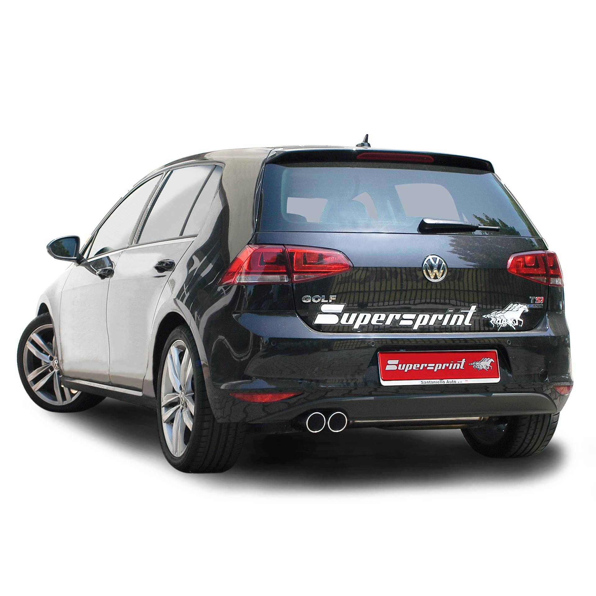 vw golf vii gt act 1 4 tsi 140 hp 2012 volkswagen exhaust systems. Black Bedroom Furniture Sets. Home Design Ideas