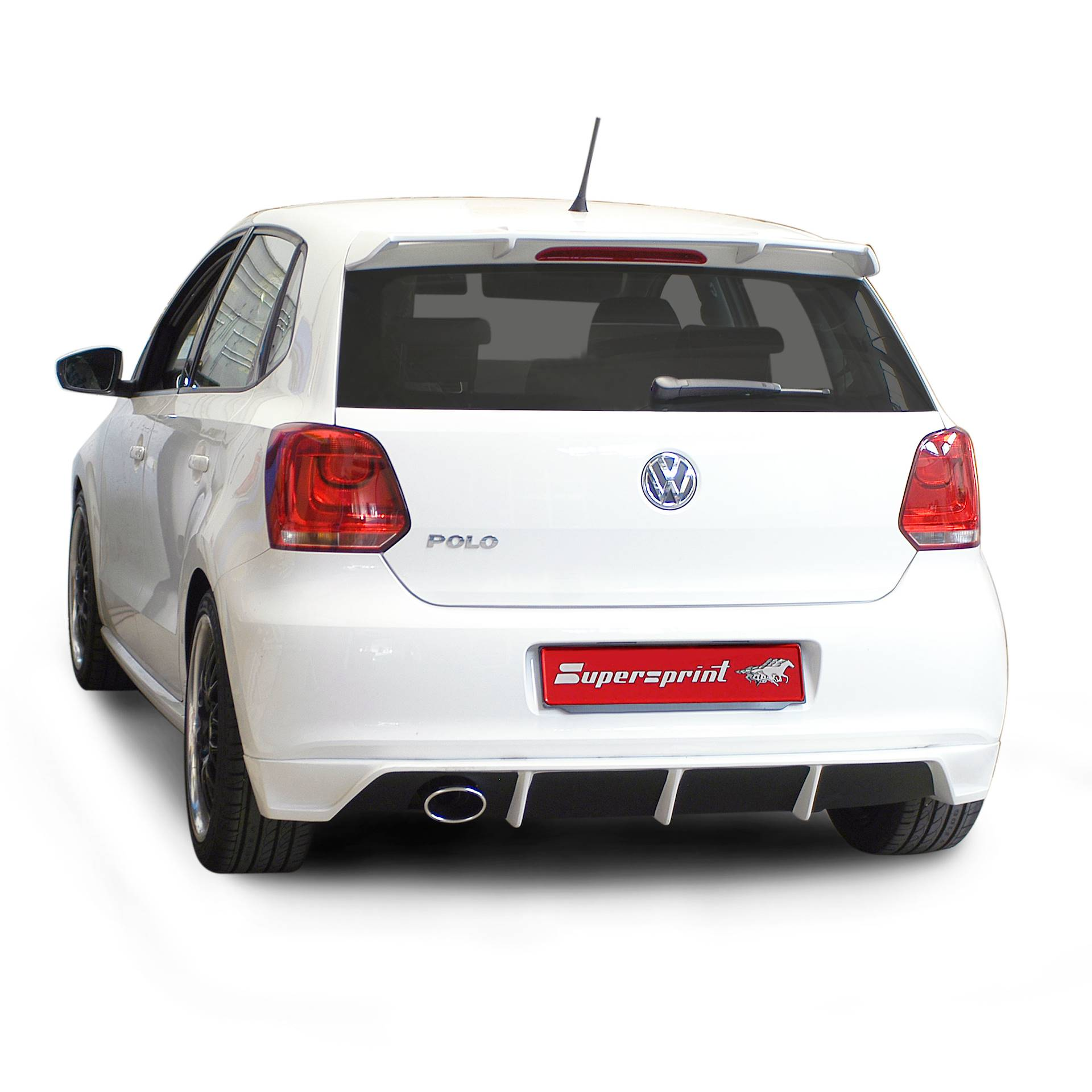 vw polo 6r 3d 5d 60hp 70hp 2009 volkswagen exhaust systems. Black Bedroom Furniture Sets. Home Design Ideas
