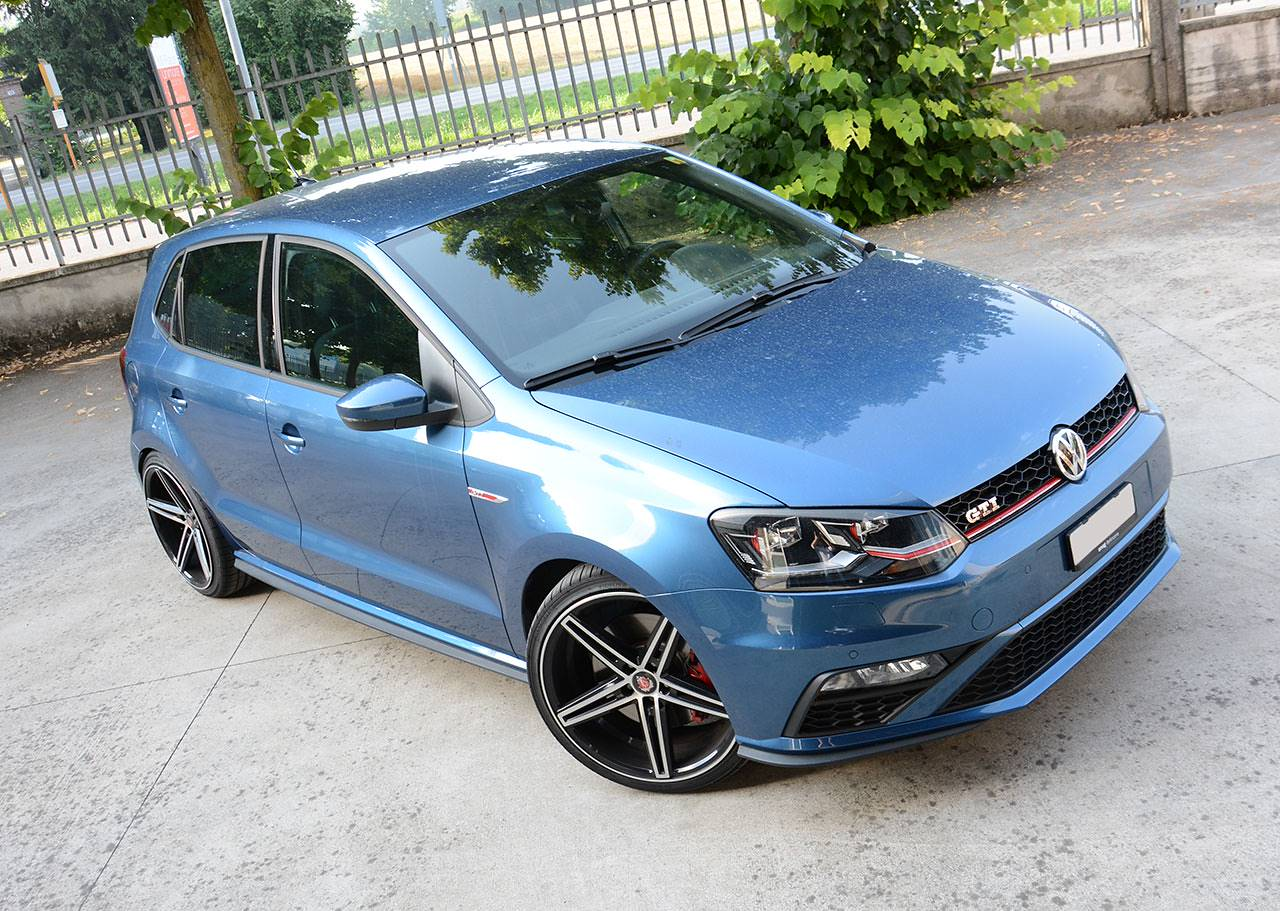 VW Polo 6C GTI 1.8 TSI 2015 at Supersprint