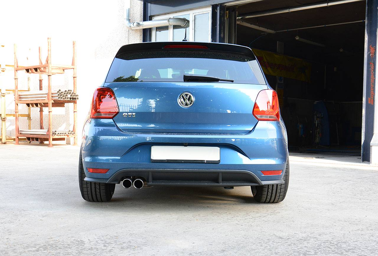 VW Polo 6C GTI 1.8 TSI in Supersprint- scarico di serie