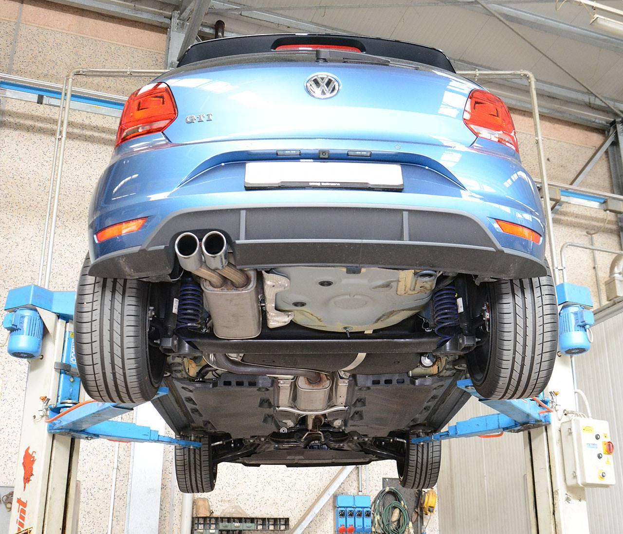 Neue Sportauspuff F 252 R Polo 6r 1 8 Tsi 2015 192 Ps 2015