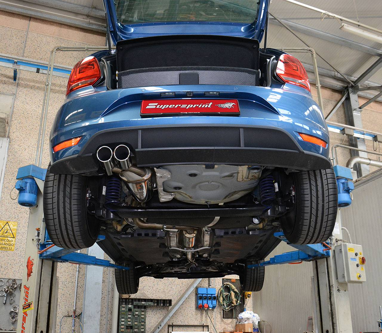 Supersprint full exhaust for Polo 6C GTI 2015 1.8 TSI