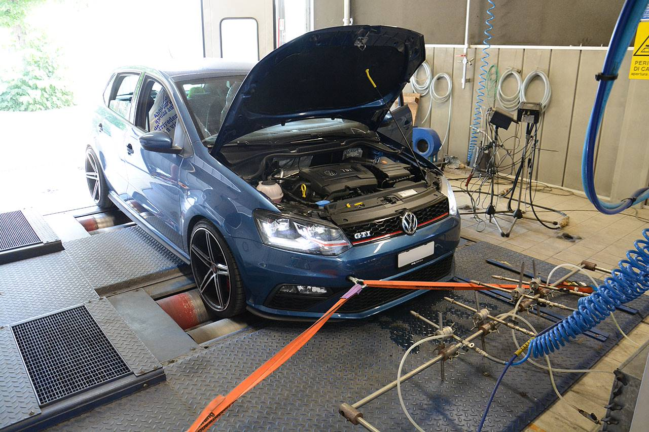 Supersprint full exhaust for Polo 6C GTI 2015 1.8 TSI - dyno testing