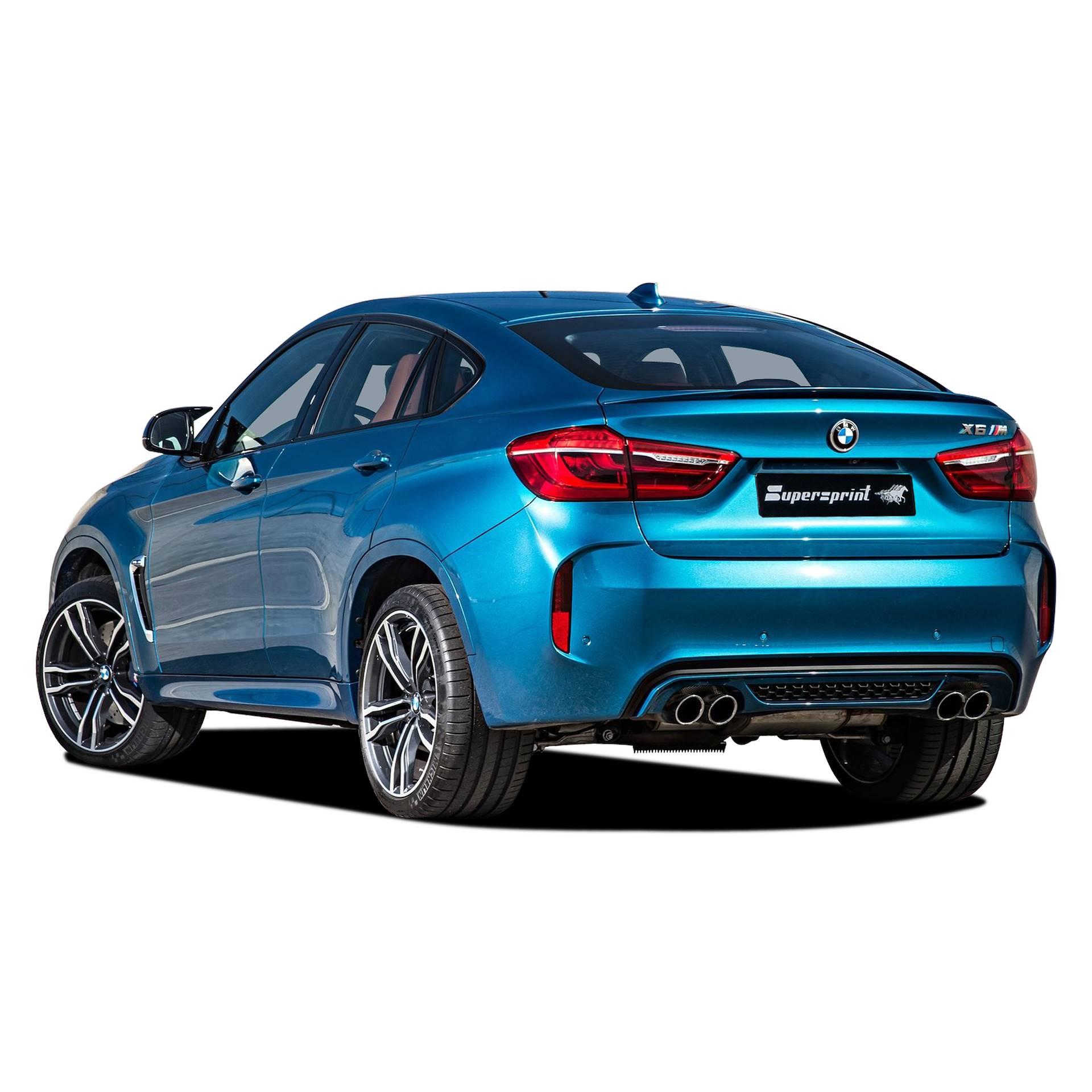 Supersprint udstødning til BMW F86 X6 M
