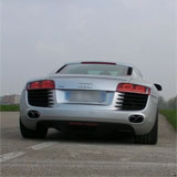 Audi R8 V8 with race exhaust 767034