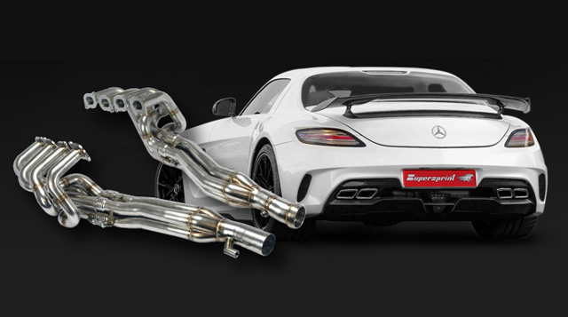 New Exhaust System For SLS AMG Black Series