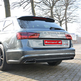 New Supersprint exhaust system for AUDI A6 4G 2015 3.0 TDI