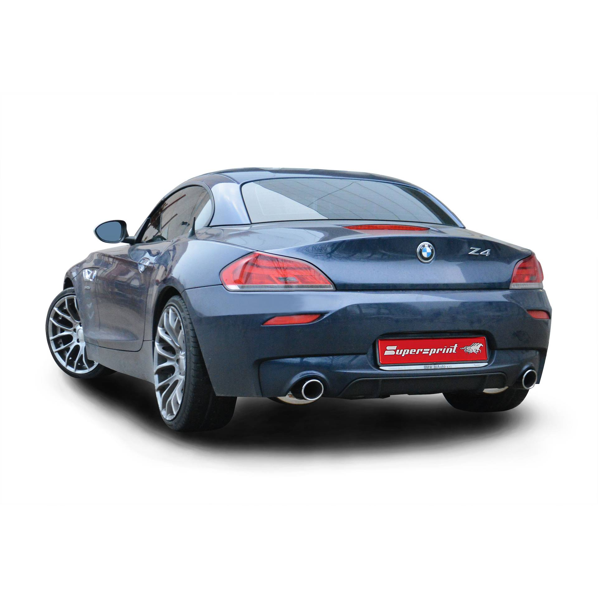 Bmw Z4 2009: BMW Z4 E89 35is SDrive Sound With Supersprint Exhaust