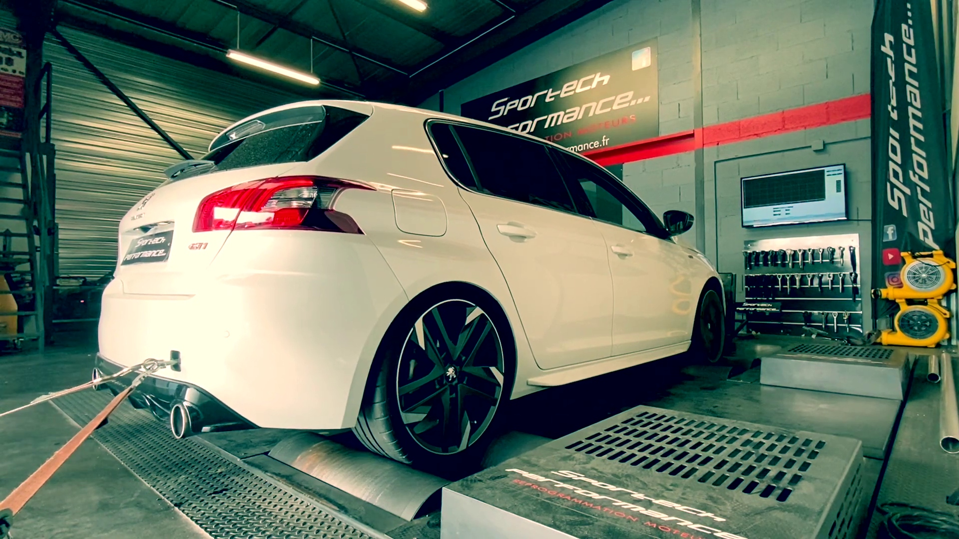 "Scarico SUPERSPRINT ""Race Pack"" per PEUGEOT 308 GTi THP 1.6 16v (270 Hp) 2015 -> 2017"