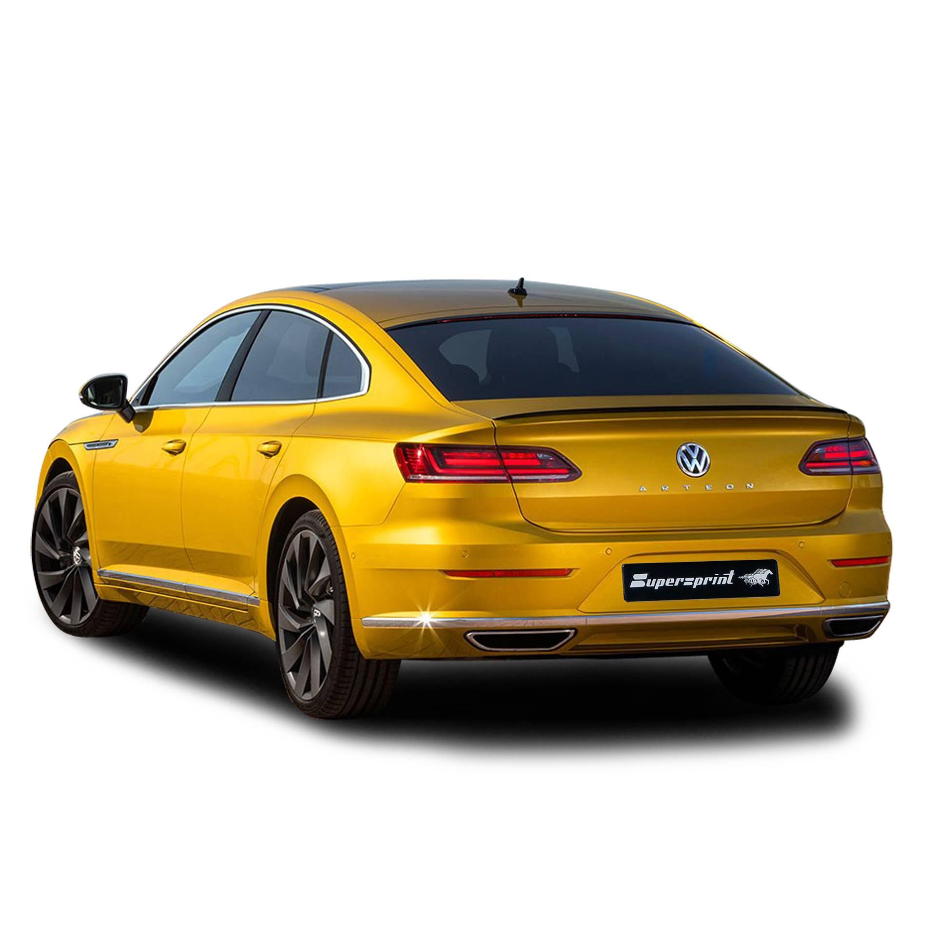 Supersprint sportsudstødning til VW Arteon